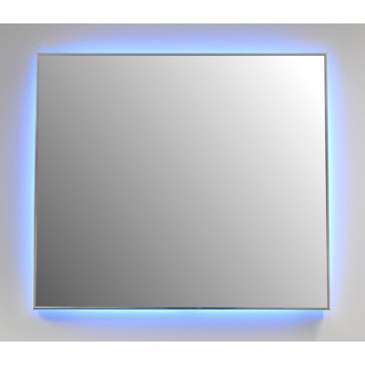 Qmirrors Ambiance spiegel 70x65 cm met omlijsting chroom incl LED ...