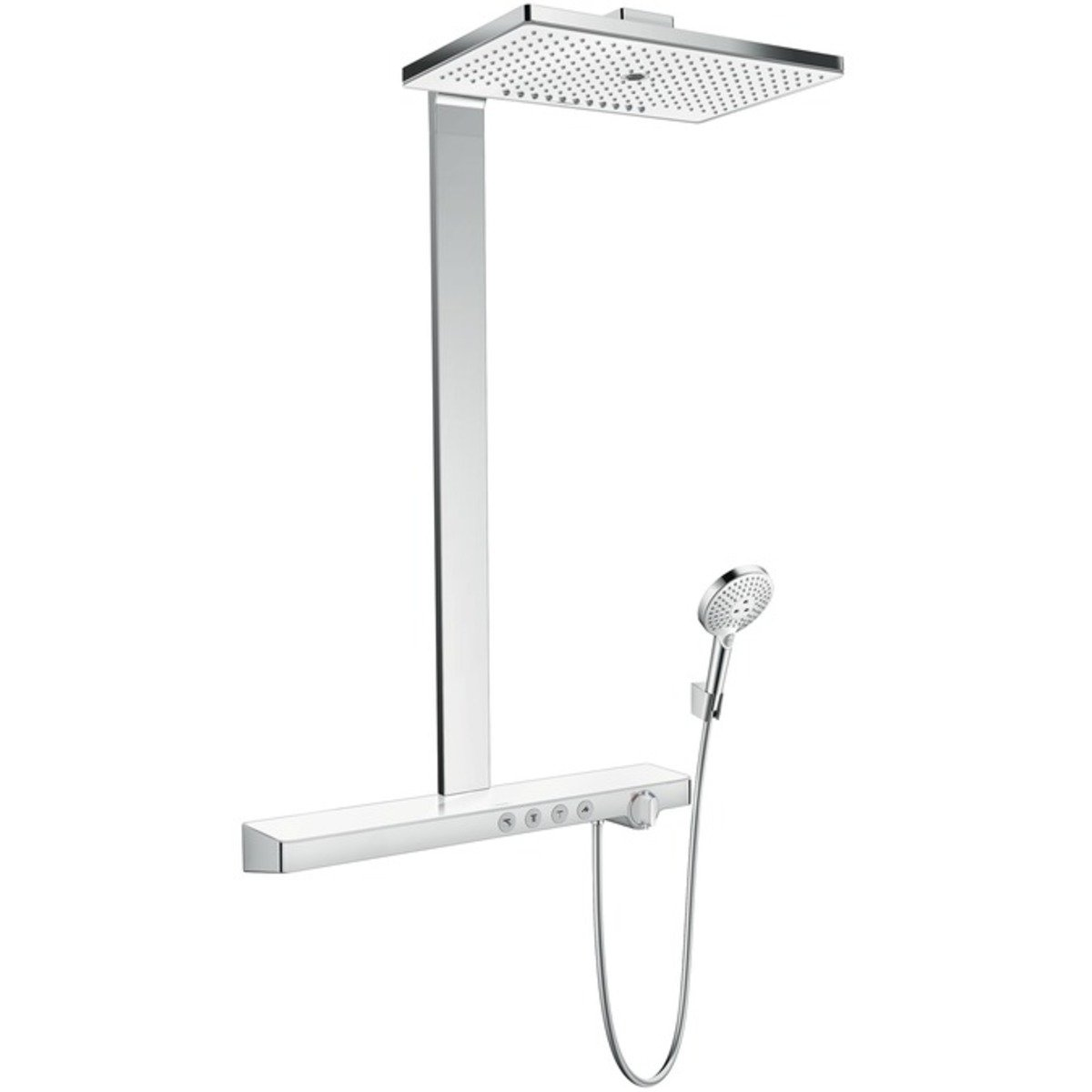 hansgrohe rainmaker select 460 colonne de douche ecosmart avec showertablet select 700 robinet. Black Bedroom Furniture Sets. Home Design Ideas