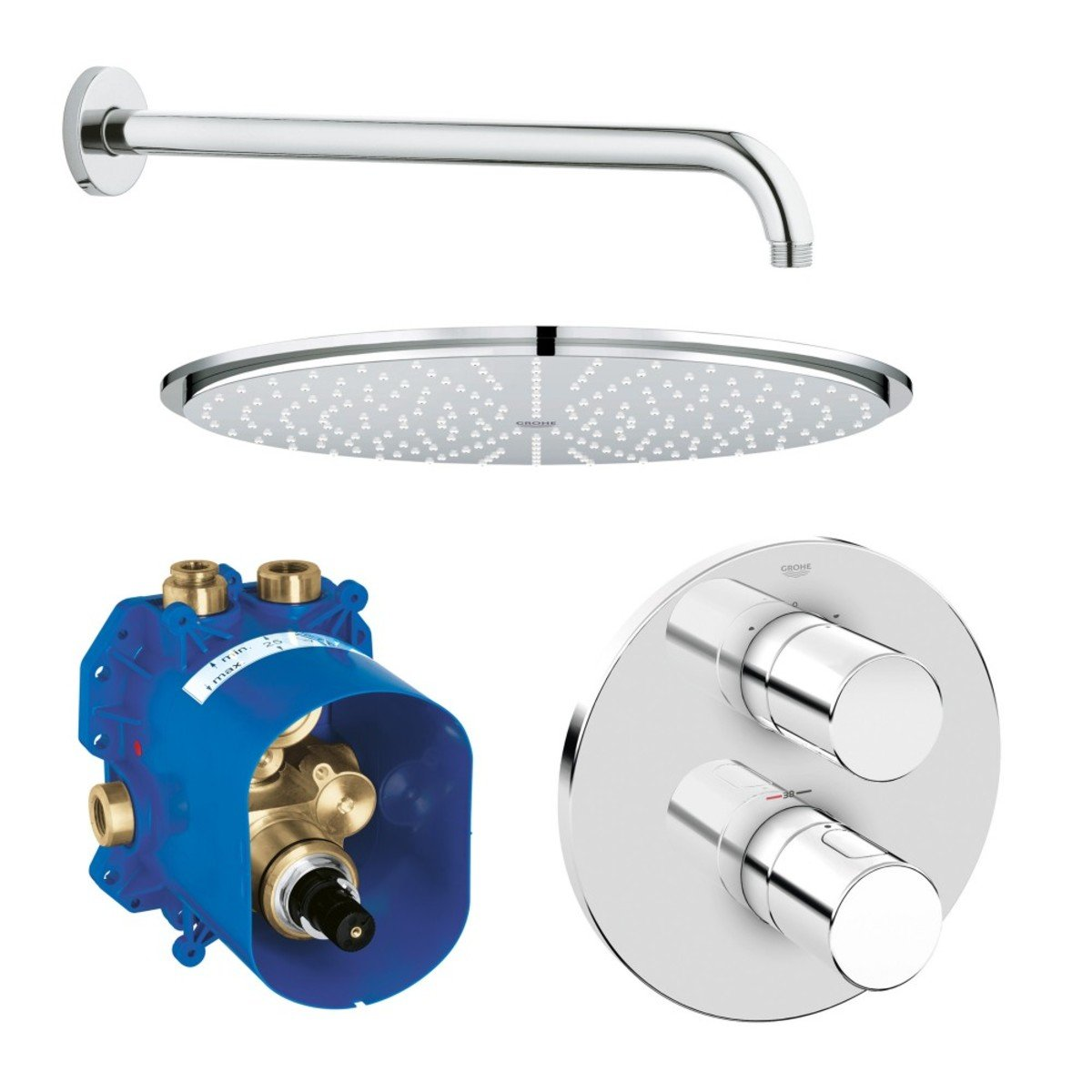 Grohe Grohtherm 3000 Cosmopolitan Mitigeur Douche Thermostatique