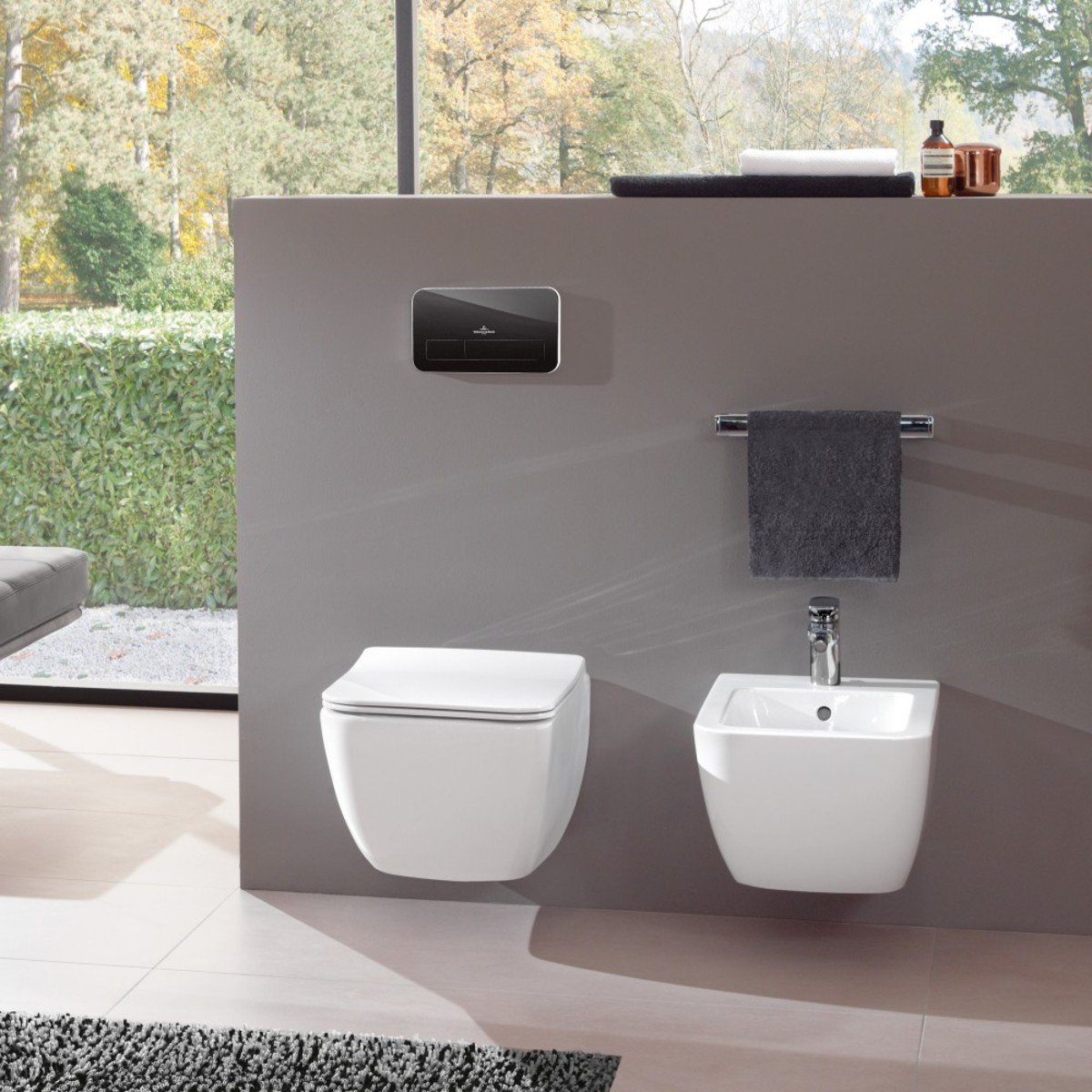 villeroy en boch legato wandbidet met kraangat. Black Bedroom Furniture Sets. Home Design Ideas