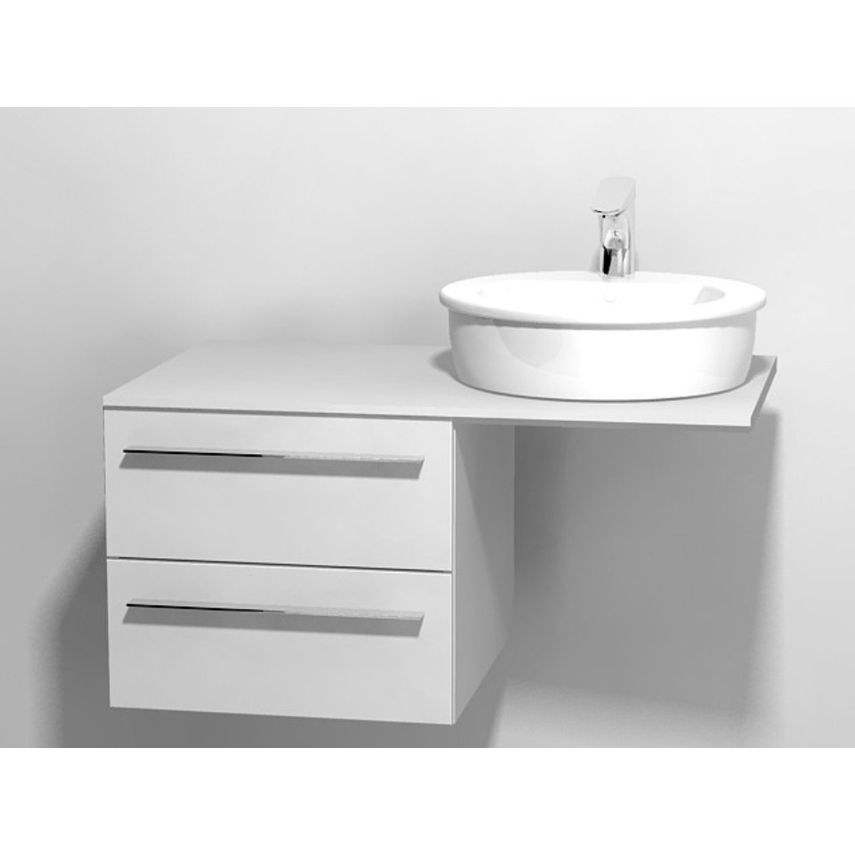 duravit x large meuble sous lavabo pour console avec 2 tiroirs 50x545x44cm blanc brillant. Black Bedroom Furniture Sets. Home Design Ideas