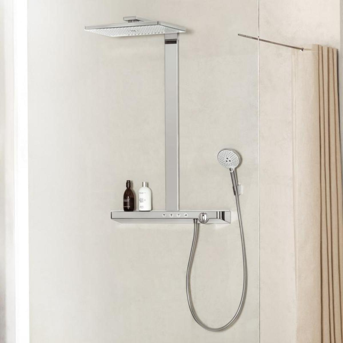 hansgrohe rainmaker select 460 3jet showerpipe met. Black Bedroom Furniture Sets. Home Design Ideas