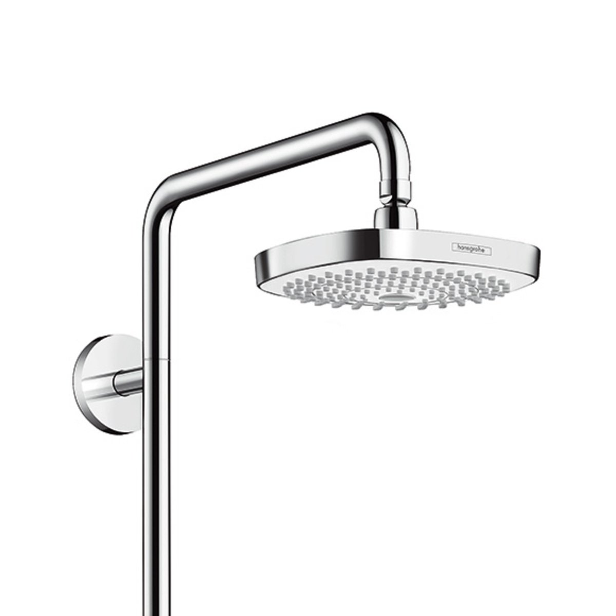 hansgrohe croma select e 180 2jet showerpipe met talis s. Black Bedroom Furniture Sets. Home Design Ideas