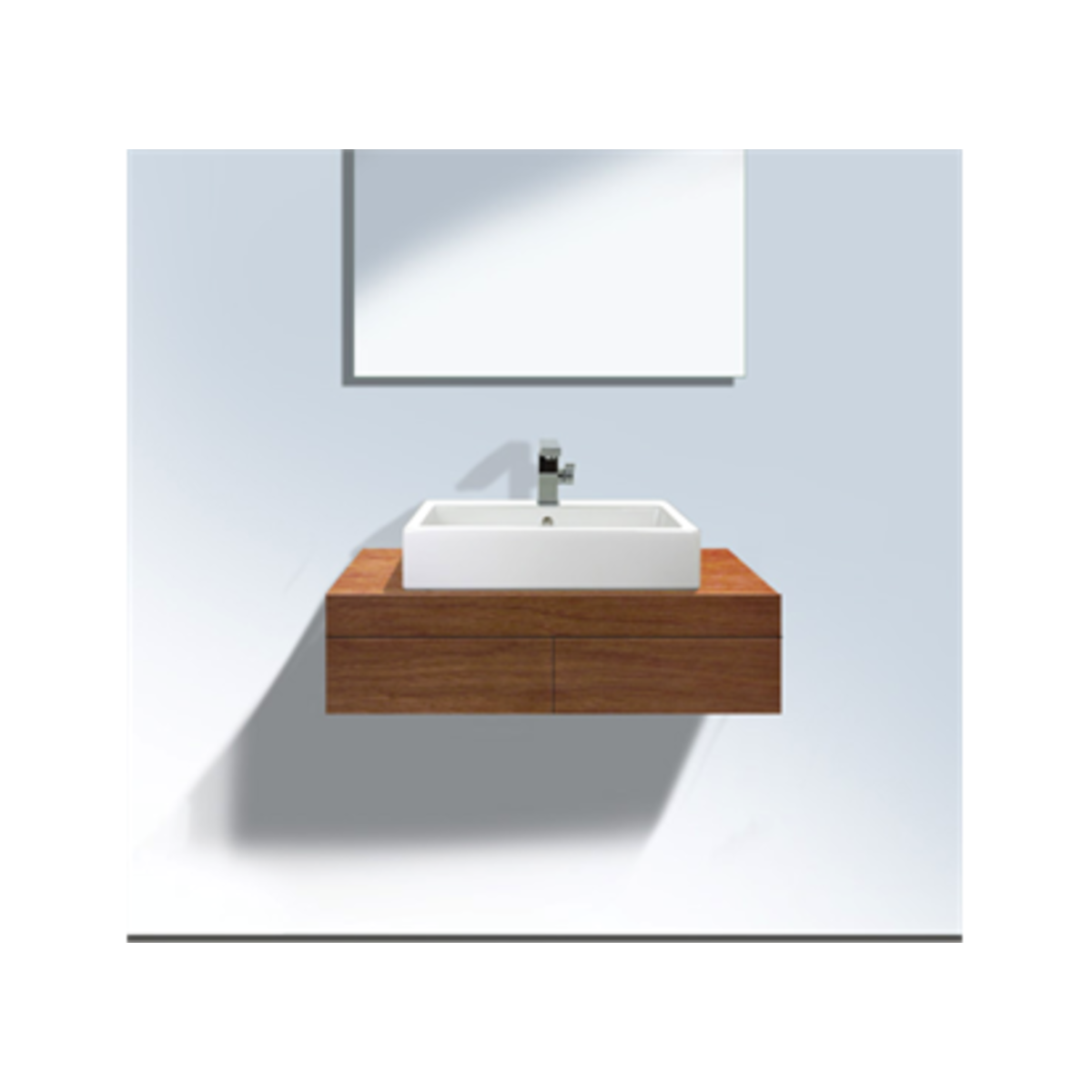 duravit fogo console inclusief 2 dragers inclusief 2 laden. Black Bedroom Furniture Sets. Home Design Ideas