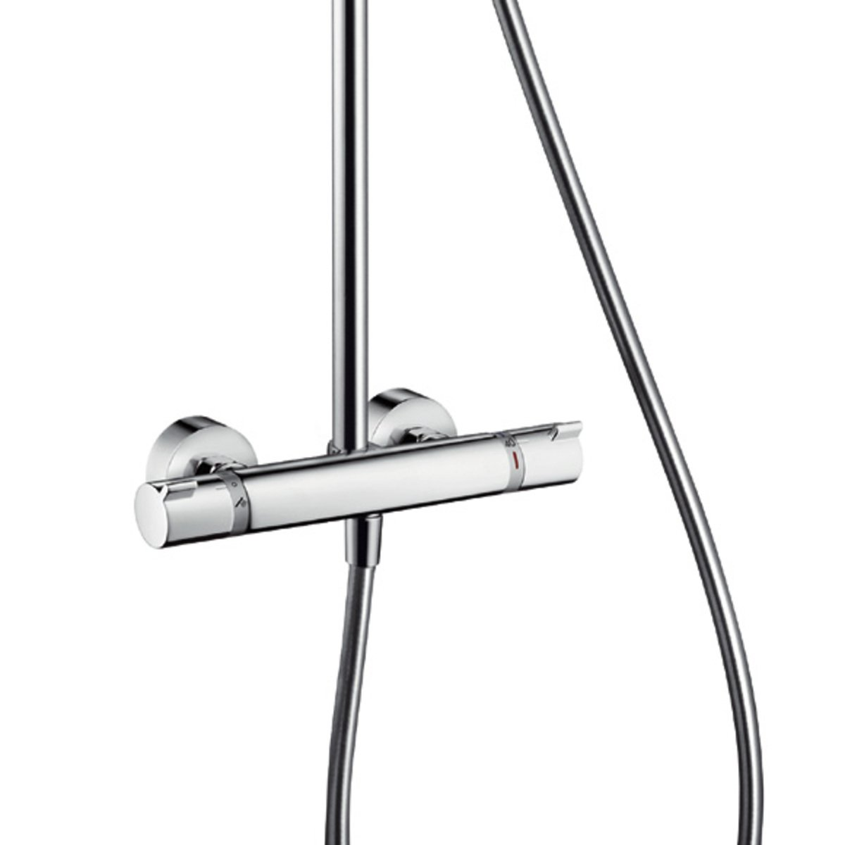hansgrohe croma 160 showerpipe met thermostaatkraan chroom 27135000. Black Bedroom Furniture Sets. Home Design Ideas