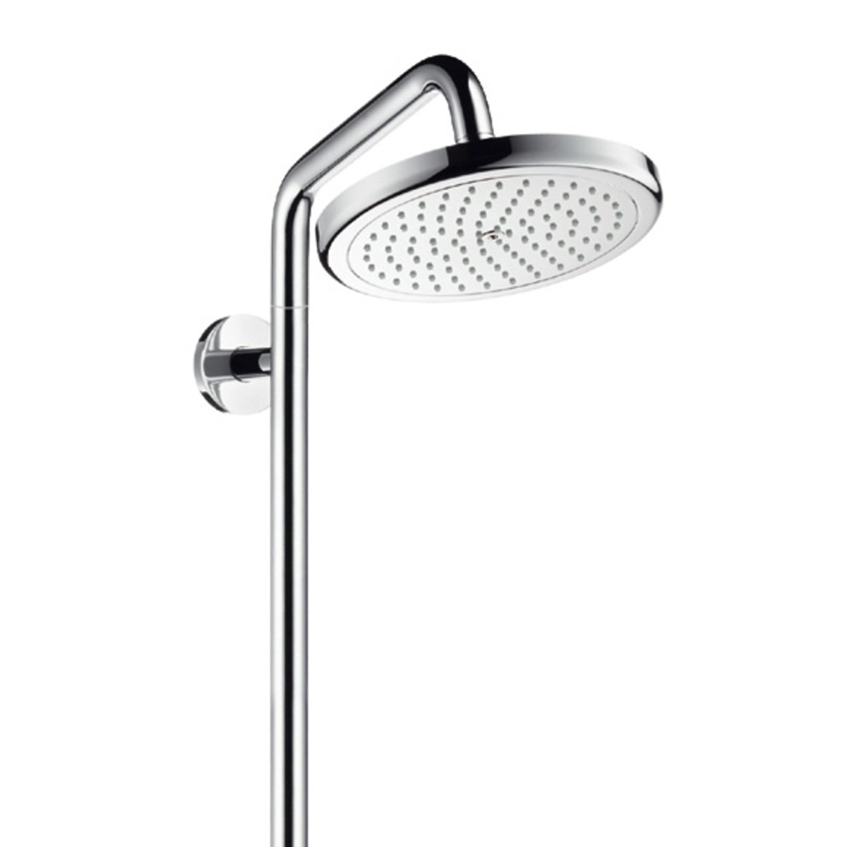 hansgrohe croma 220 showerpipe met douchekraan. Black Bedroom Furniture Sets. Home Design Ideas
