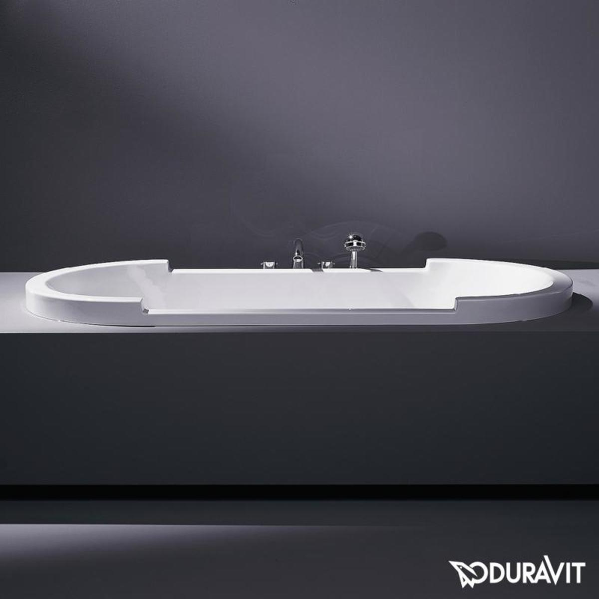 duravit starck bad acryl ovaal 190x90x46cm wit. Black Bedroom Furniture Sets. Home Design Ideas