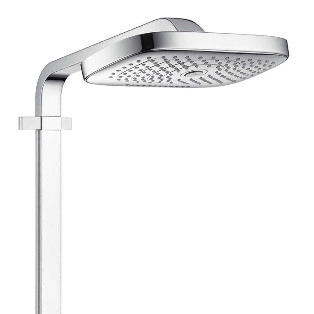hansgrohe raindance select e300 colonne de douche avec showertablet 300 robinet mural. Black Bedroom Furniture Sets. Home Design Ideas