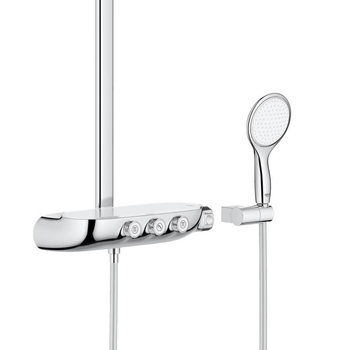 grohe rainshower smartcontrol 360 duo douchesysteem met. Black Bedroom Furniture Sets. Home Design Ideas
