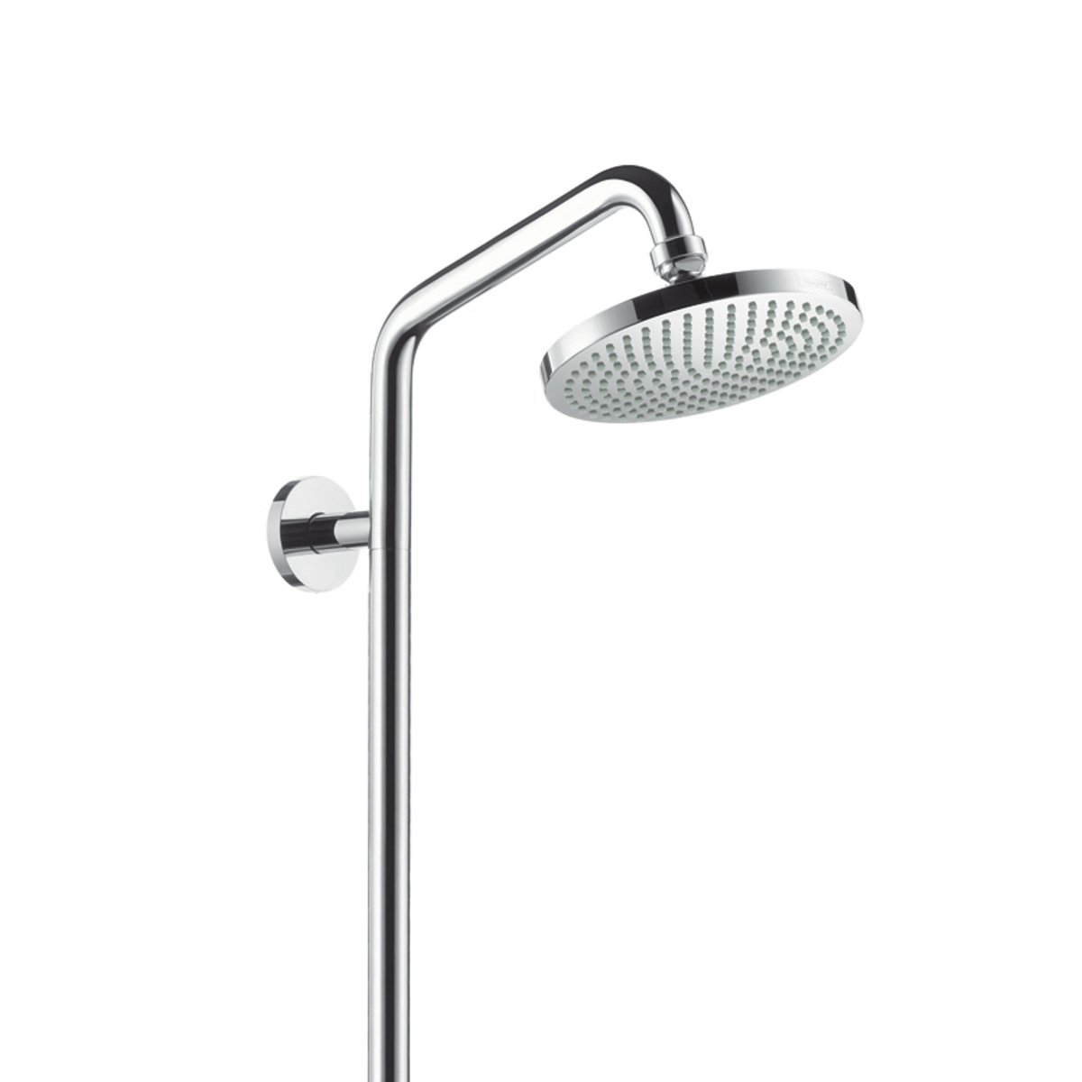 hansgrohe raindance colonne de douche avec robinet de douche chrome 27154000. Black Bedroom Furniture Sets. Home Design Ideas