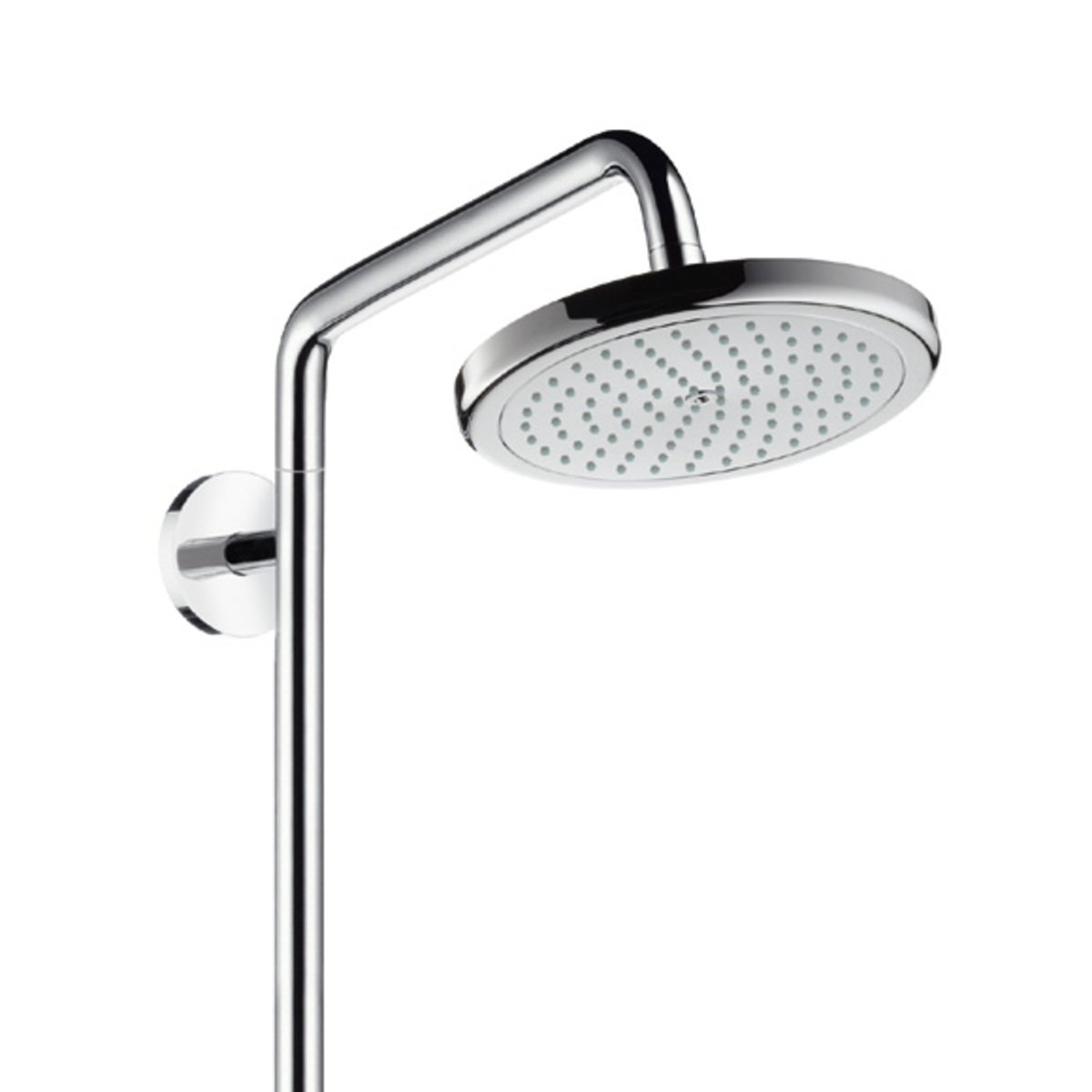 hansgrohe croma colonne de douche sans robinet pour r novation avec douchette main 100 vario. Black Bedroom Furniture Sets. Home Design Ideas