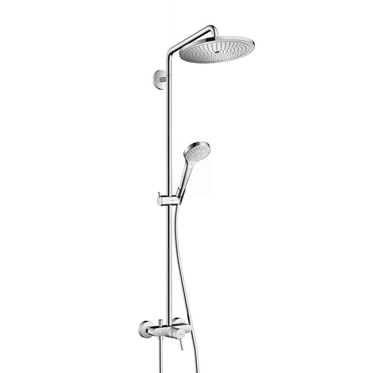 hansgrohe croma select s 280 showerpipe avec robinet de douche chrom 26791000. Black Bedroom Furniture Sets. Home Design Ideas