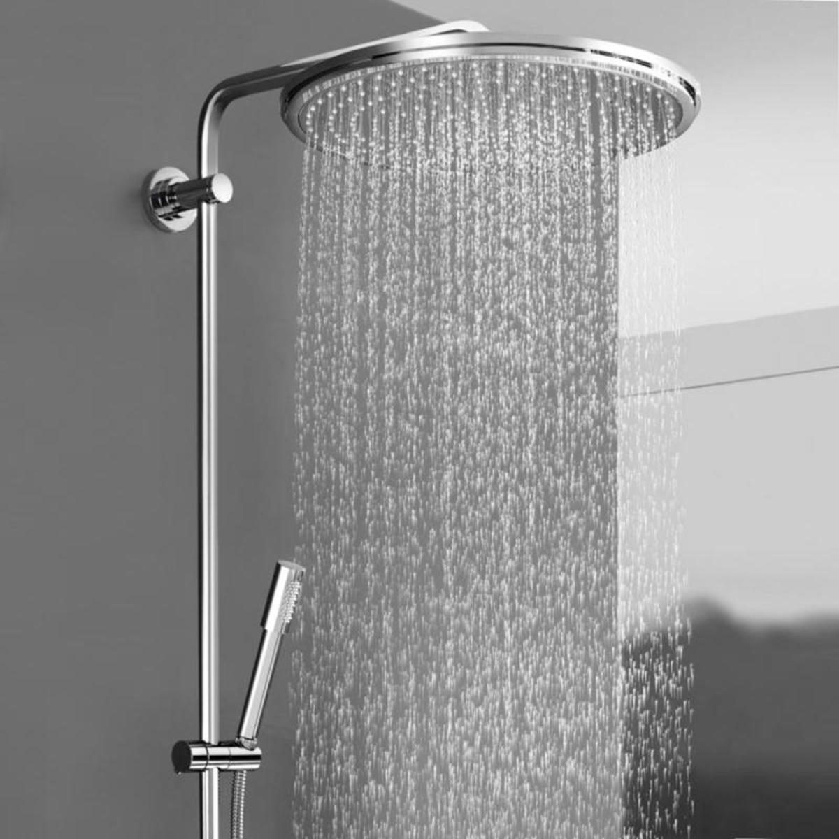 grohe rainshower cosmopolitan syst me de douche avec. Black Bedroom Furniture Sets. Home Design Ideas