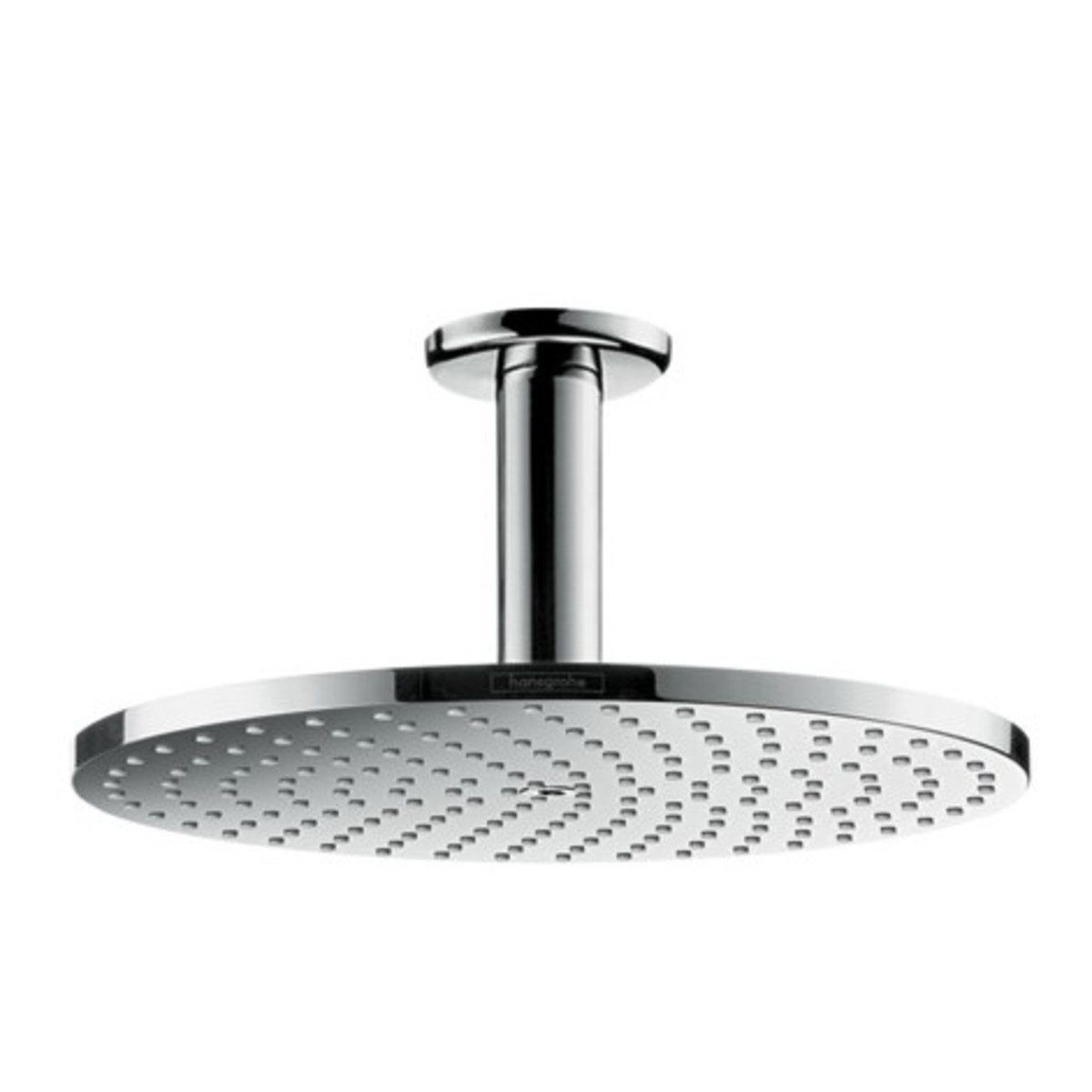 hansgrohe raindance s hoofddouche 240 1jet powderrain met plafondaansluiting 10cm 24cm chroom. Black Bedroom Furniture Sets. Home Design Ideas
