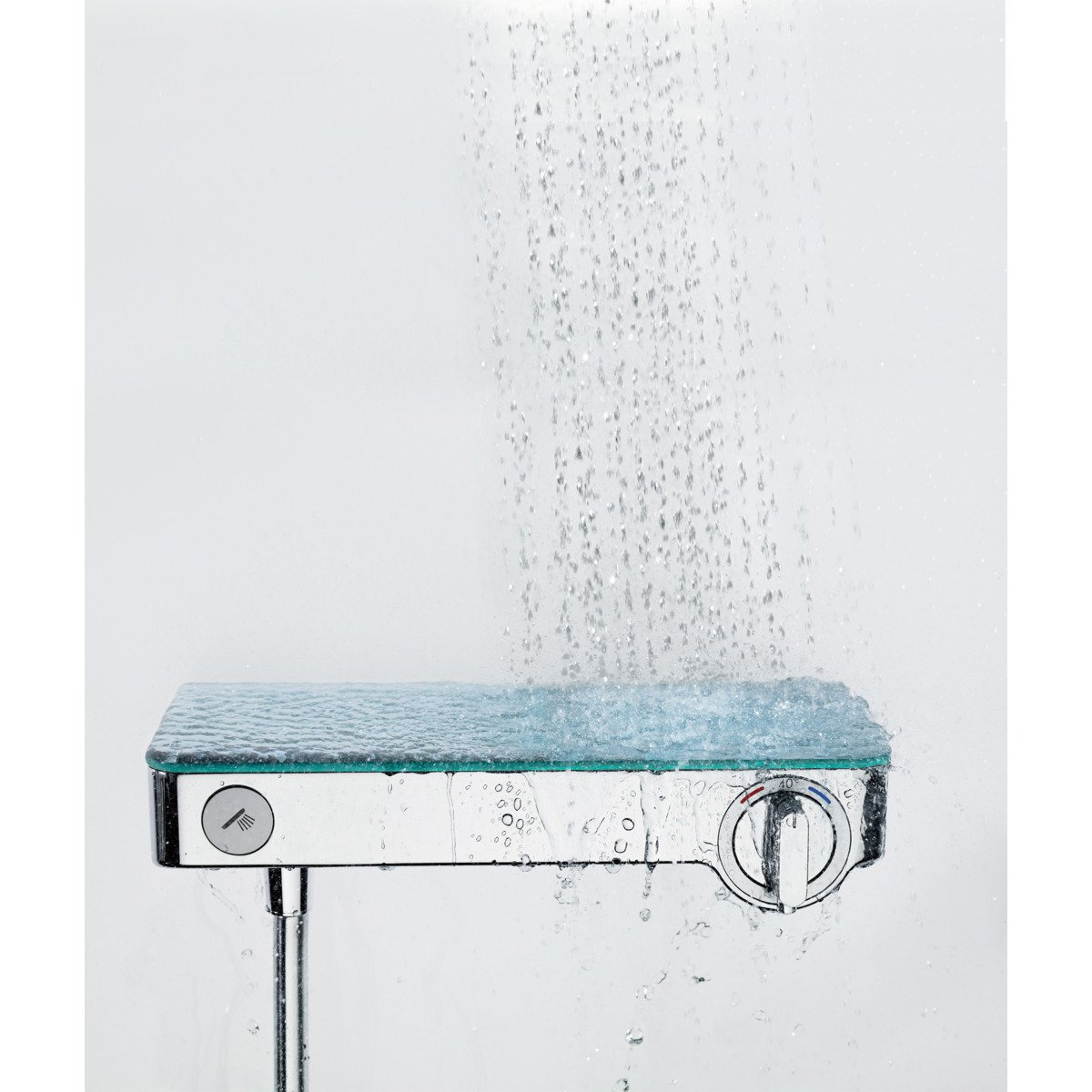 hansgrohe select shower tablet 300 douchethermostaat 15cm. Black Bedroom Furniture Sets. Home Design Ideas