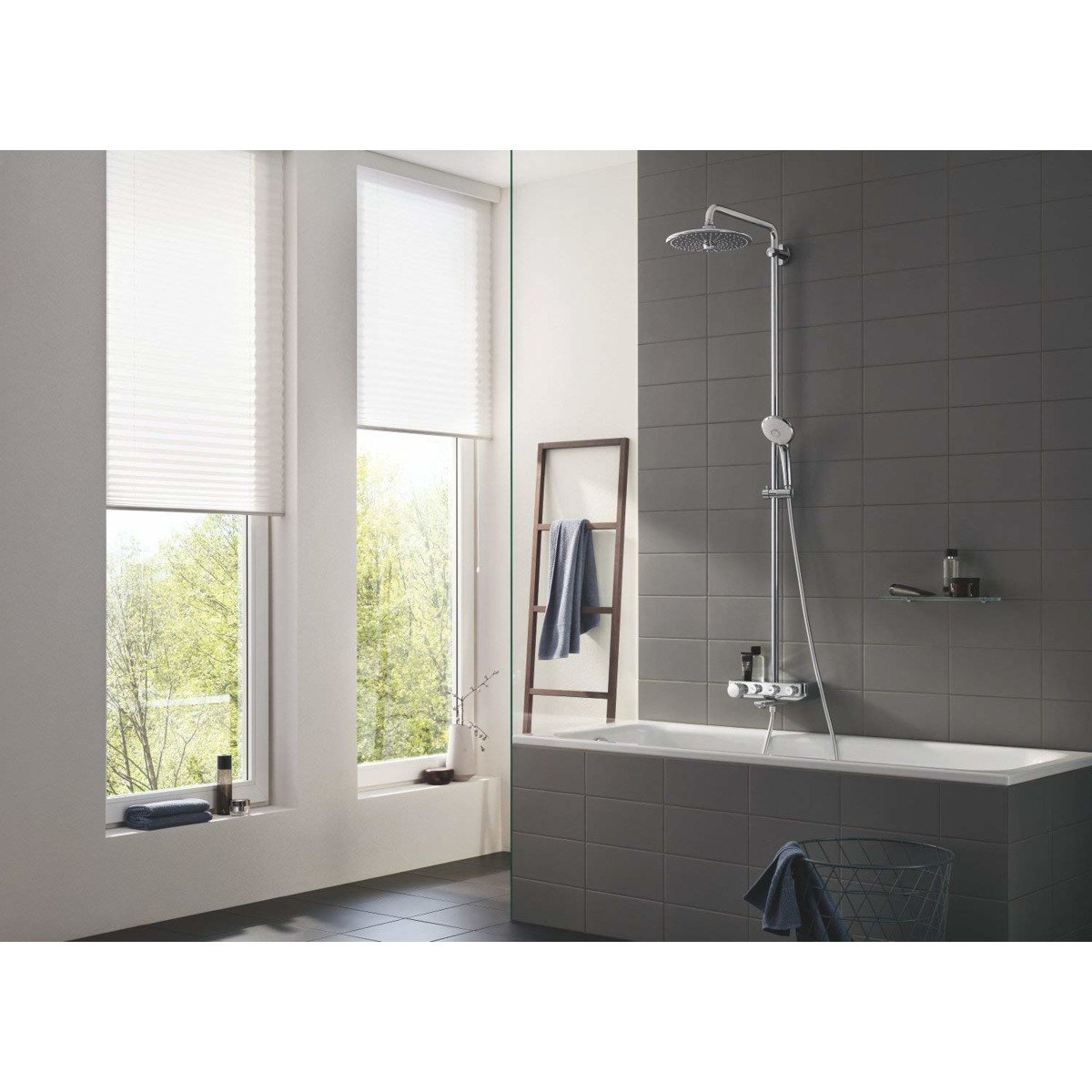 grohe euphoria smartcontrol 260 douchesysteem mono chroom 26510000. Black Bedroom Furniture Sets. Home Design Ideas