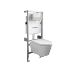 throne bathrooms salina compact inbouwset met softclose zitting en geberit sigma 20 bedieningsplaat wit chroom