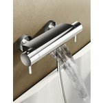 hotbath buddy mitigeur de bain thermostatique cascade chrome