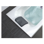 villeroy boch coussin bain 24x15x5cm anthracite