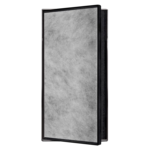 looox box niche encastrable 10x30x10 a carreler anthracite