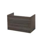 saniclass legno meuble sous lavabo 80x45.5cm anthracite