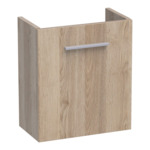 Saniclass Florence fonteinkast links met softclose 40x45x21.5cm Legno Calore SW3058