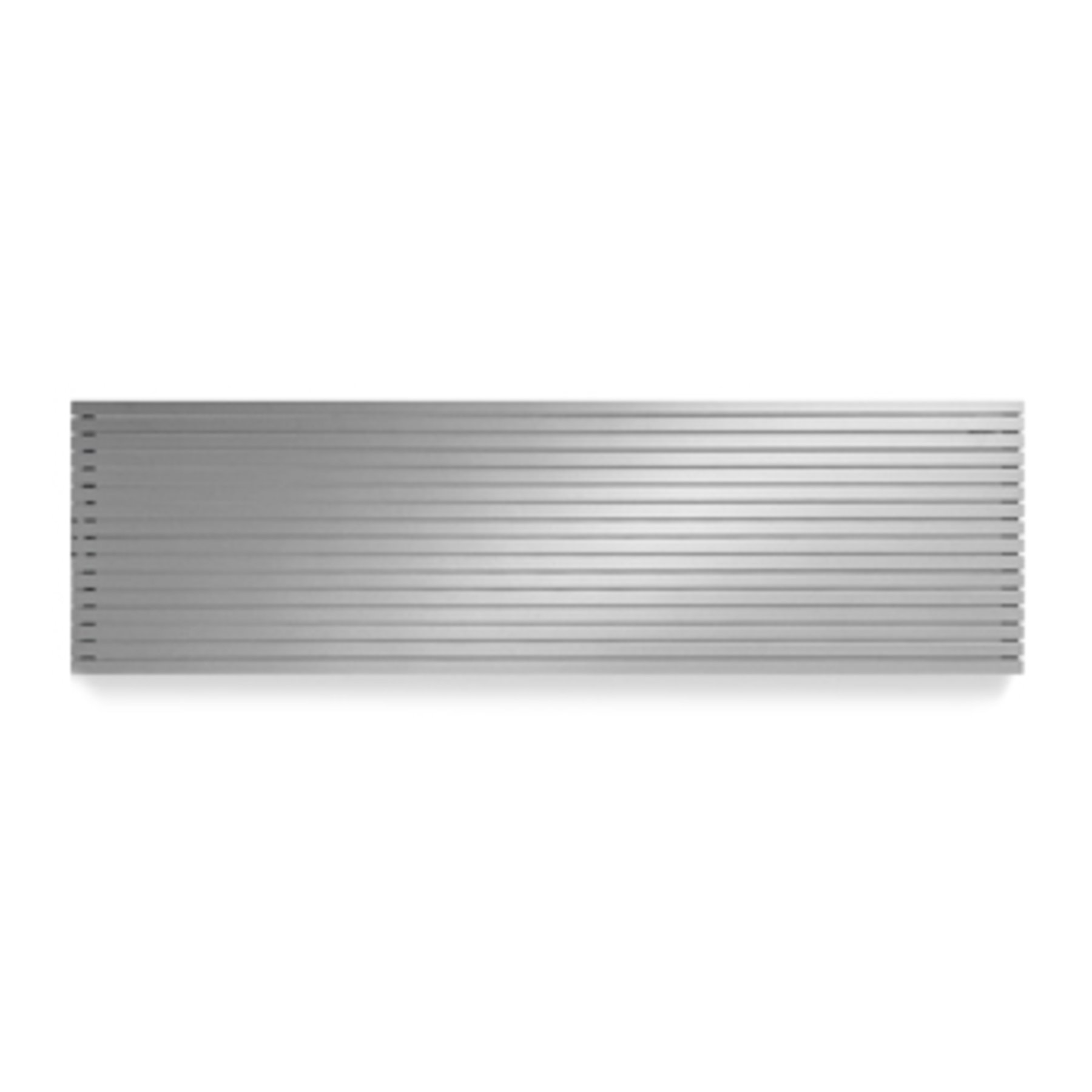 Vasco Carre Plan CPHN2 designradiator horizontaal dubbel 3000x355mm 2295 watt wit alu