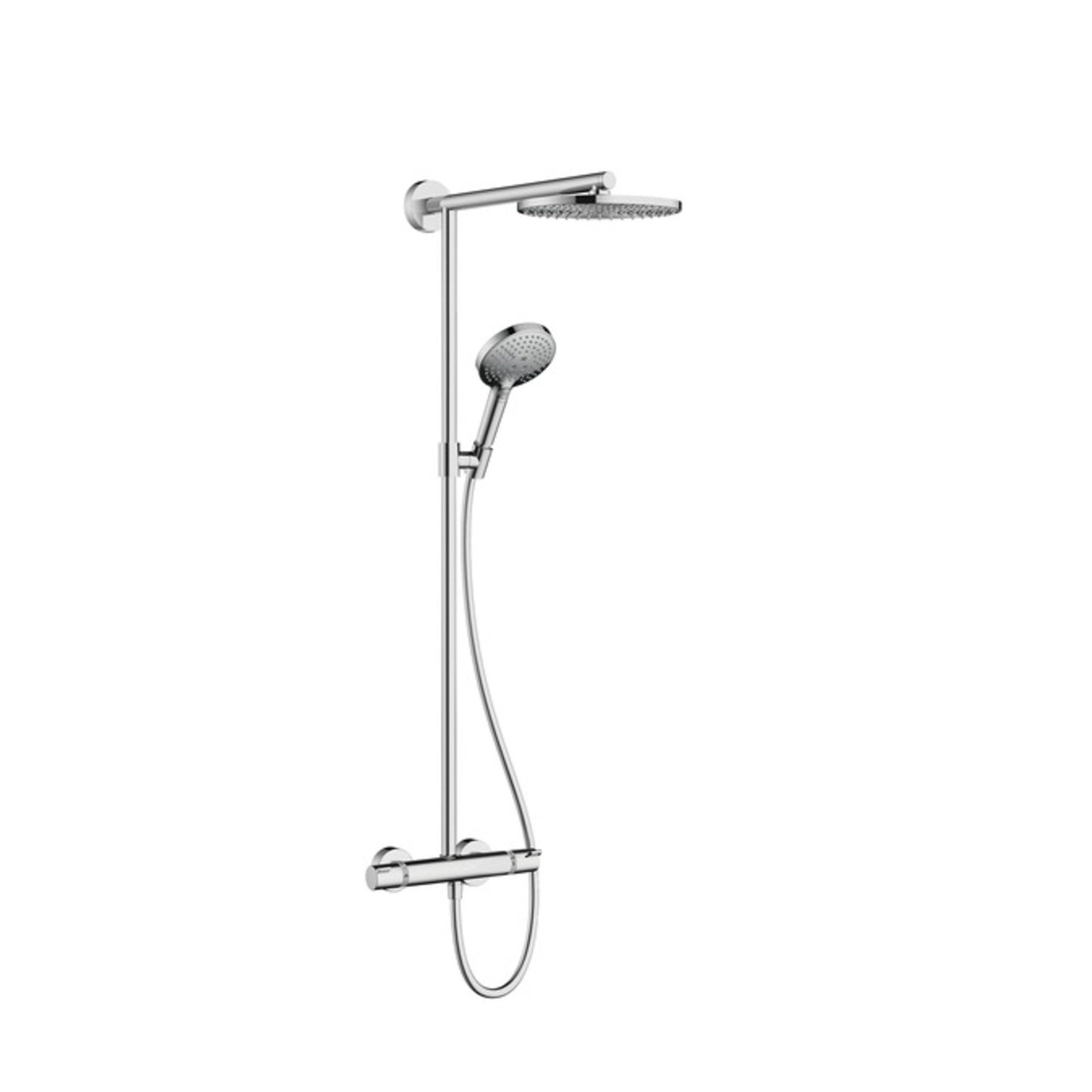 hansgrohe raindance air 240 showerpipe met douchethermostaat chroom in de aanbieding kopen. Black Bedroom Furniture Sets. Home Design Ideas