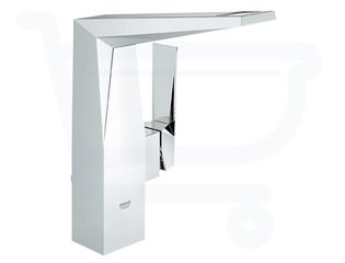 Grohe Allure Brilliant wastafelkraan hoge uitloop met waste chroom 0442132