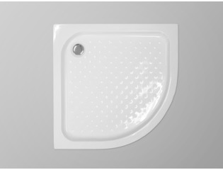 Saniclass Kay douchebak 80x80x13,5cm kwartrond wit OUTLET