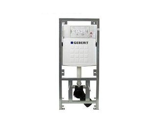 Geberit UP320 inbouwreservoir frontbediening dual flush en isolatiemat 0701131