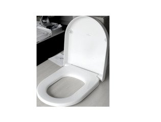 Villeroy en Boch Subway 2.0 closetzitting met quick release wit 0124070