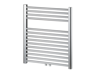 Haceka Gobi Design radiator 69x59cm 6 punts 258 watt chroom