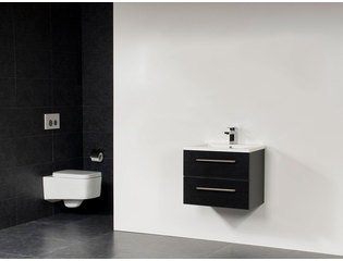 Saniclass Bologna 60 badmeubel met twee lades black diamond SW18102