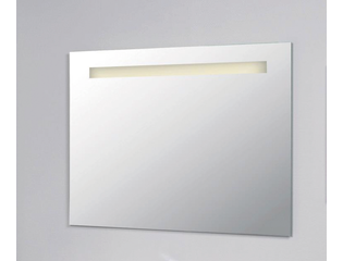 INK Spiegel met verlichting LED 120x3x80cm Alu OUTLET OUT5300