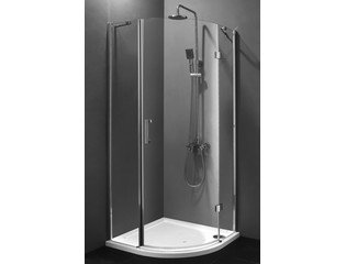 Saniclass Grenon01 douchecabine 90x90x200cm kwartrond helder glas OUTLET