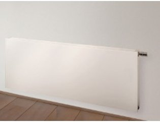 Vasco Flatline Paneelradiator type 22 400x800mm 926W vlak wit structuur 7243596