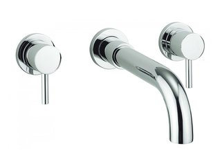Adora Fusion Robinet de bain encastrable 3 trous chrome