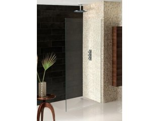Simpsons Wetroom Receveur de douche 120x90x3cm à daller vidage central gris SW30986