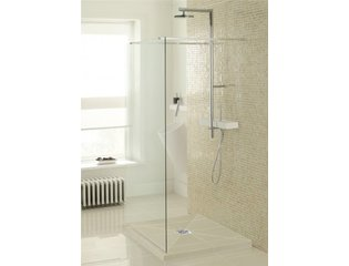 Simpsons Wetroom Receveur de douche 180x90x4cm rectangulaire à daller gris SW30959