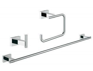 Grohe Essentials Cube accessoireset 3 in 1 chroom 0438178