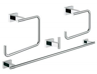 Grohe Essentials Cube accessoireset 4 in 1 chroom 0438179