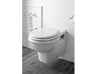 Van Heck Traditional Hangend toilet Porselein Wit PCOWW00