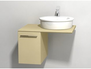 Duravit X large onderbouwkast v console met 1 lade 30x545x44cm cappuccino glans 0294295