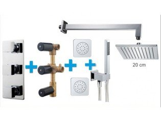 Praya One Pack Set de douche thermostatique encastrable type 118 SW62600