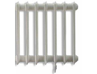 Vasco Vintage 50 radiator met ledenvoeten 1178x1000mm RAL9001 crèmewit OUTLET OUT3740