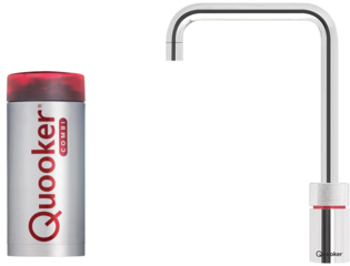 Quooker Nordic Square kokendwaterkraan COMBI+ chroom OUTLET OUT5046