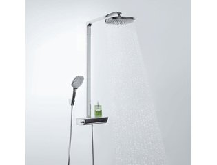 Hansgrohe Raindance select showerpipe e 300 2jet chroom GA20046