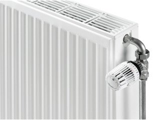 Stelrad Compact paneelradiator type 33 600x1200mm 2867 watt wit OUTLET OUT5477