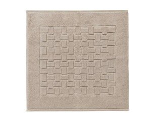 Woodynox Ritz badmat 60x60cm katoen taupe OUTLET OUT4232